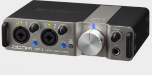 Zoom UAC2 Audio interface for Producing Music