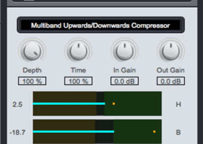 Xfer Records – OTT Multiband Compressor